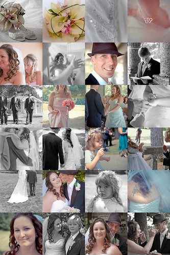 Meghan and Jeff's Wedding mosaic
