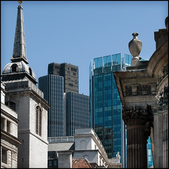 The City Through The Ages (Stuart-Lee) Tags: uk england london architecture buildings tower42 cityoflondon bankofengland londonist squaremile