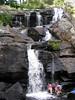 Devil's Hopyard_Aug 01 2010_0001 (suevitabella) Tags: water rock stone flow waterfall rocks stones connecticut steps ct olympus falls waterfalls potholes conn hooves millington downstream devilshopyard c770 devilshopyardstatepark haddam chapmanfalls olympusc770 haddamct dibbleshopyard beebesmills scotlandschist