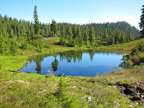 A small lake near our camp site