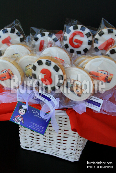 Cars Cookie 1