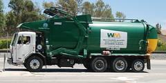 WASTE MANAGEMENT (WM) TRUCK 209882 (Navymailman) Tags: trash truck garbage wm management waste