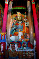 Guru Padmasambhava (Arvind Manjunath) Tags: india canon himalaya polarizer incredible leh himalayas ladakh cpl 2010 hoya canonefs1785mmf456isusm incredibleindia inw canon40d arvindmanjunath img12607