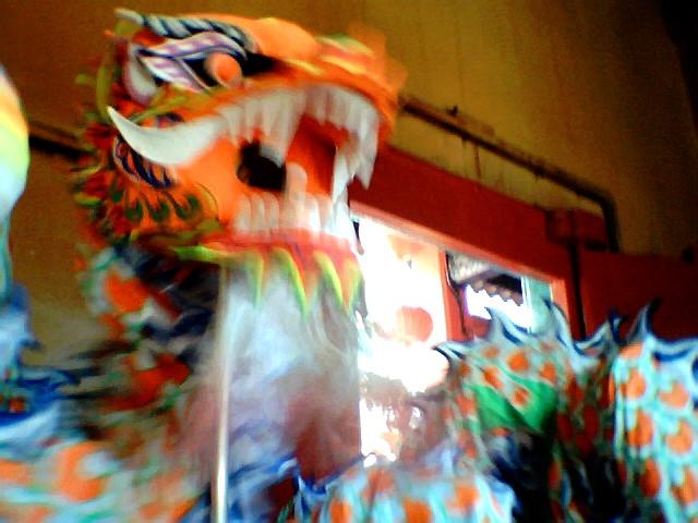 The dance of a dragon through a Toy Camera @ KL, Malaysia