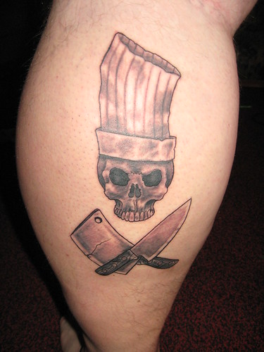 Chef Tattoo