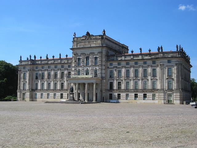 Slottet i Ludwigslust