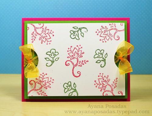 Glitter Floral Vines (1)