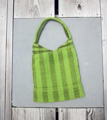 Green Woven Bag 2