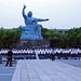 School choir at Peace Statue - Nagasaki