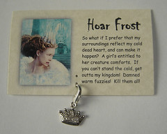 Hoar Frost card