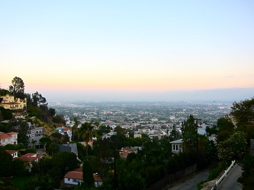 The View from Hollywood - Dusk