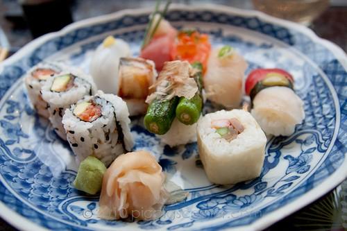 Sushi of Shiori sushi platter