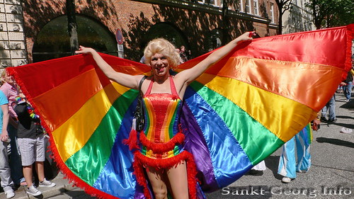 CSD 2010 in Hamburg St. Georg