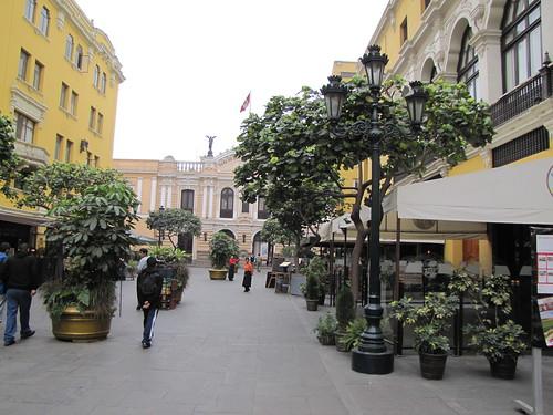 Calles de Lima Foto