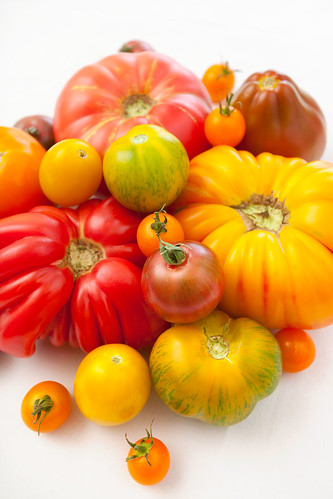 Heirloom Tomatoes from Riperia Farm