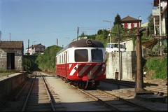 Limit of operations (Renown) Tags: railroad portugal station diesel trains railcar cp railways cf narrowgauge rdc estacio amarante railbus watercrane nohab branchline metregauge caminhosdeferroportugeuses