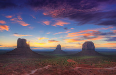 Before (Wolfgang Staudt) Tags: road morning travel red arizona sky usa sun mountains southwest nature colors beautiful yellow clouds america sunrise wonder landscape early utah amazing hit nikon sandstone holidays butte view shot desert tripod sigma roadtrip wilderness navajo monumentvalley vacancy sonnenaufgang hdr mesa bluff 2010 tafelberg coloradoplateau stativ navajonation photomatix travelphotographie wolfgangstaudt 66111 nikond300