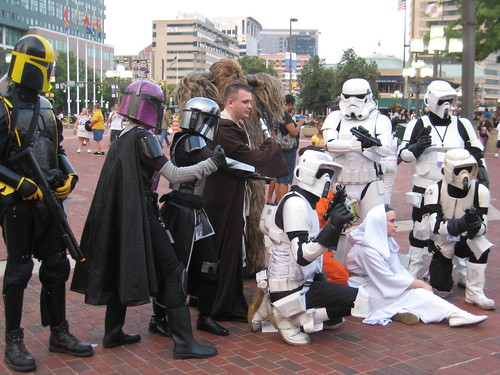 Anime Convention - Inner Harbor - Baltimore - August 2010