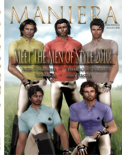 MANIERA Magazine/MEN of STYLE 2010