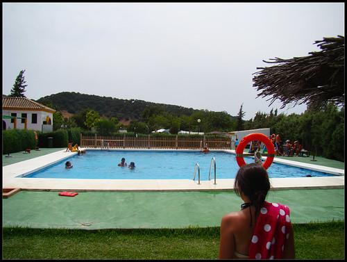 Piscina Camping Los Gazules