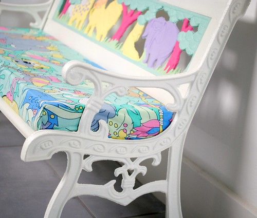 Jungle Kids Bench