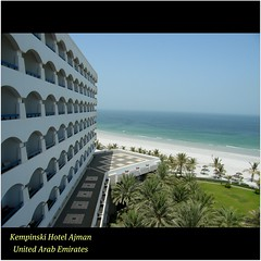 The fabled Kempinski Hotel Ajman, UAE : WORLD : SENSE : Located direct on the Arabian Gulf. Wonderful resort, excellent weather, views, service and endless blue. Enjoy! :) (|| UggBoyUggGirl || PHOTO || WORLD || TRAVEL ||) Tags: summer vacation holiday beach sunshine architecture wow hotel airport dubai balcony awesome uae bluewater bluesky resort international worldwide views sharjah beachfront unitedarabemirates deira galleria ruthchrissteakhouse discover ajman thegulf hyattregency prestige bluesea urbanarchitecture kempinski burjdubai senseandsensibility armanicaffe irishlove thearabiangulf irishpride urbanparadise themonarch dubaimall rafflesdubai irishluck urbanconcept kempinskihotels luxuryrooms enjoyness emirateofajman klounge burjkhalifa happysmilesahead radissonsharjah monarchdubai highesttowerintheworld alwaysexploremore worldsense luxuryhotelgroup urbandreamfulfilled wowsensation