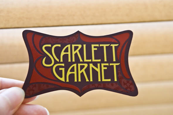Scarlett Garnet business card