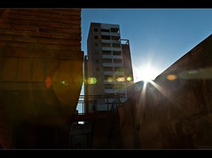 A little of lens flare is not to bad... (Pablin79) Tags: sky sun building home nature digital canon lens landscape eos reflex shine flare ef28135mm canonef28135mmf3556isusm canoneos5dmarkii 5dmkii pabloreinschphotography