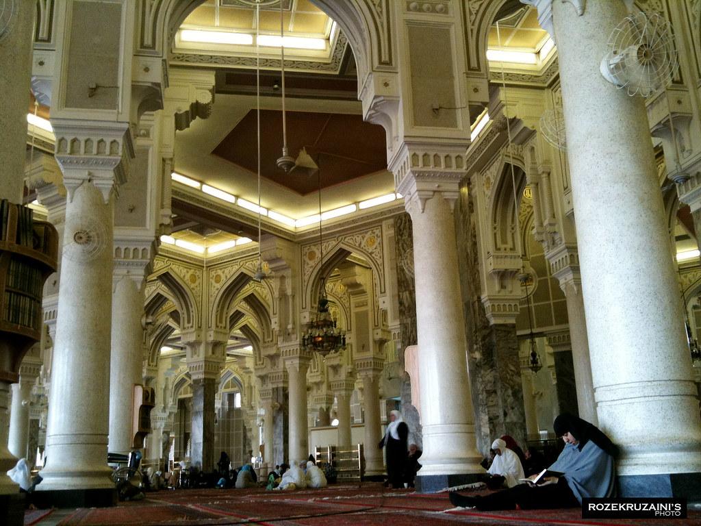 Inside Masjidil Haram