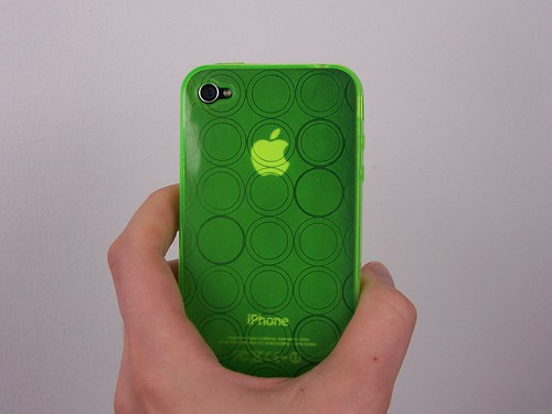 Bubbles case green