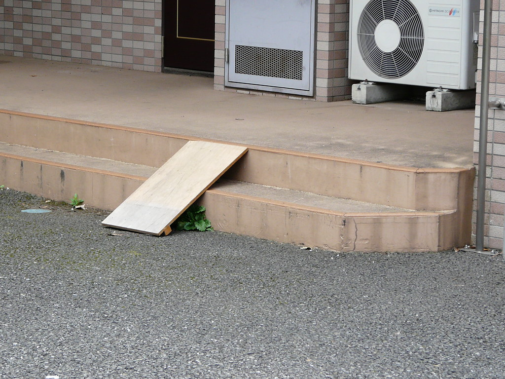 Ramp in Wooden Plank