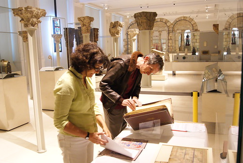 Installing British Library Manusripts