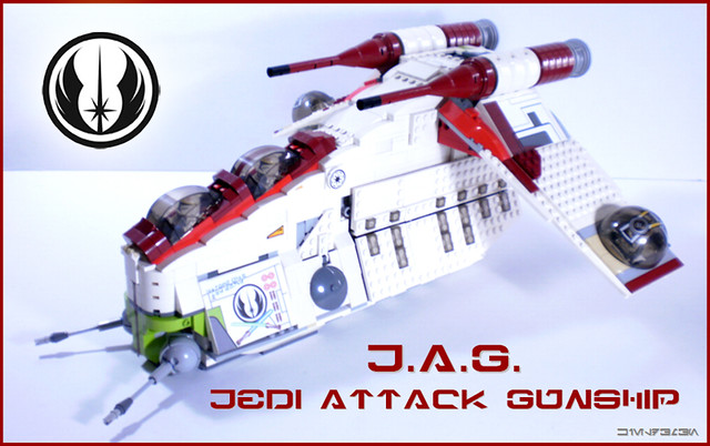 Custom Replacement Lego Star Wars Republic Attack Gunship 7676 Stickers Decals
