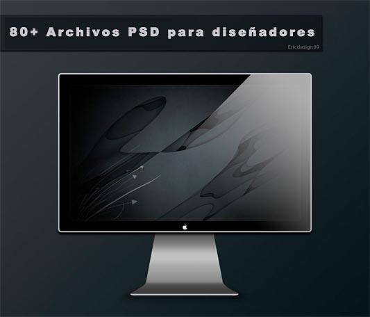 80+ Archivos PSD para diseñadores