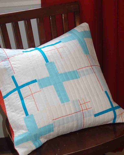 Life Aquatic Pillow - { Urban } homes - a Modern Swap
