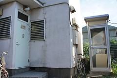 電話ボックス型洗濯室