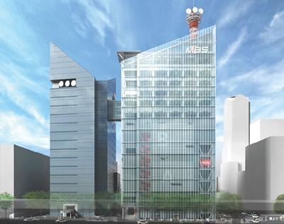 毎日放送 茶屋町の毎日放送が、現在の社屋の北側に新館を建設する計画を発表しました...  大阪市