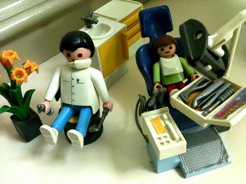 レゴの歯医者セット?
