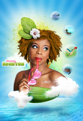 Mandy vasyon (avid97) Tags: brown color photomanipulation photoshop canon design photo lumire martinique ombre hubert montage illustrator avid tortue lunette antilles artiste retouche cration graphisme phoshop dtourage graphiste davidfrchou