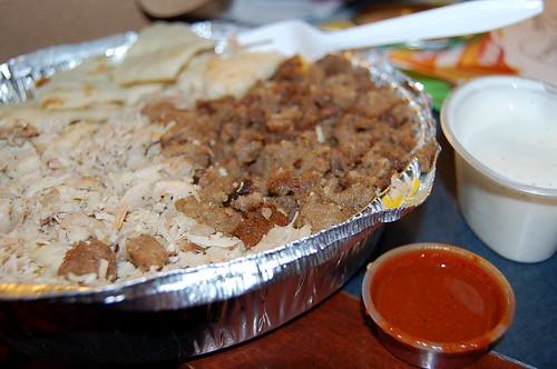 platter from Halal cart