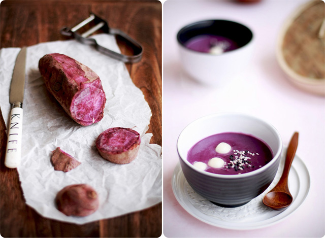 Purple Sweet Potato Dessert