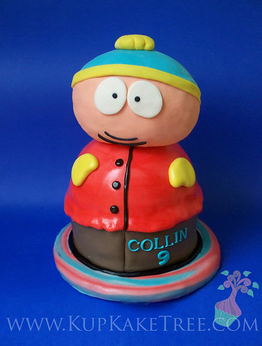 3D Cartman cake from South Park