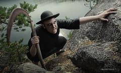Fear The Reaper (Tomas Whitehouse) Tags: reaper sulkava pocketwizards easternfinland nikond3 nikon2470mmf28g profotoacuteb600r headpack profotoacuted4head