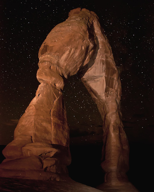Delicate Arch and Stars