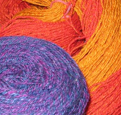 Graftyon yarn before