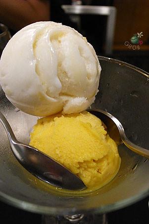 檸檬芒果雪酪