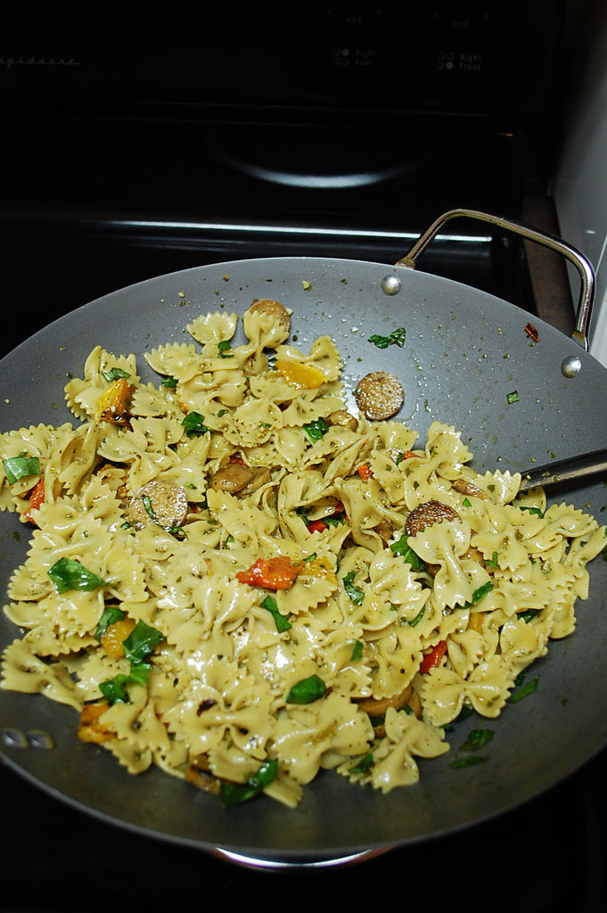 Bowtie Pasta w/ Peppers