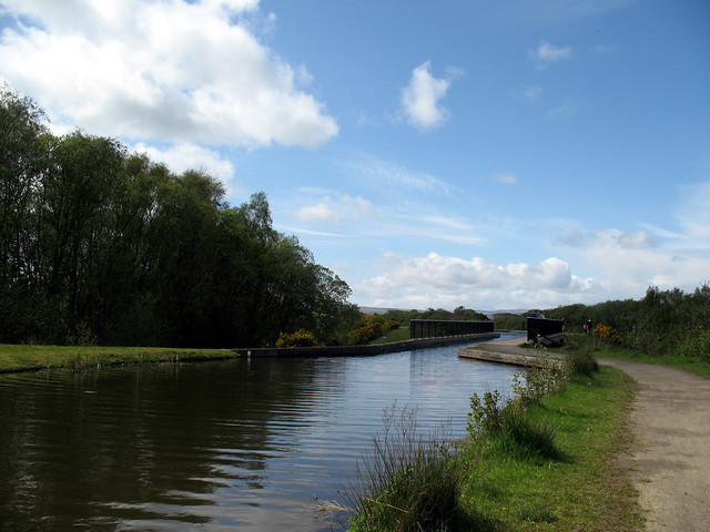 The Union Canal near Falkirk