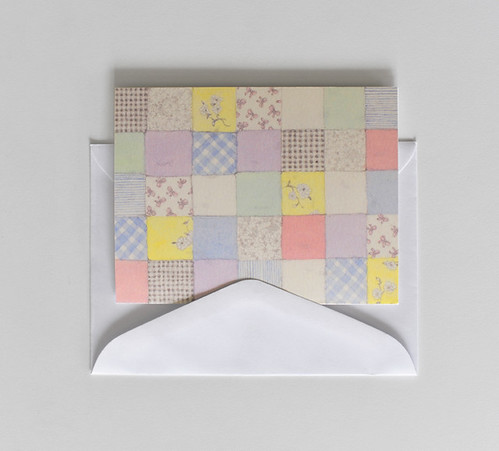 Pretty pastel quilt card