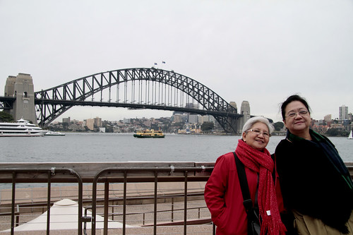 Mom and Tita Beth in Sydney